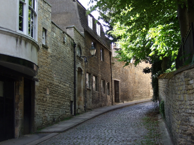 The lane not taken - one of Stamford's many hidden corners